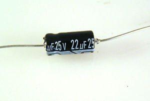 condensador 22 uf